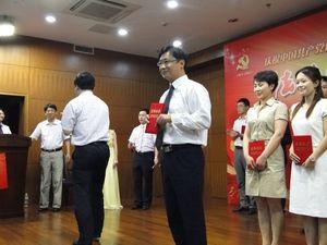 高德立律师为扬州律师演讲比赛第一名
